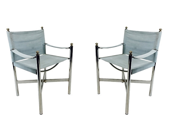 #3000 Pair Campaign Style Chairs