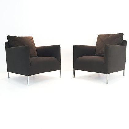 "#1848 Pair ""Solo"" Chairs by B&B Italia"