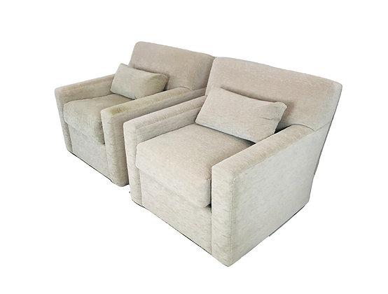 #5014 Pair Custom Armchairs (2 Pairs Available)