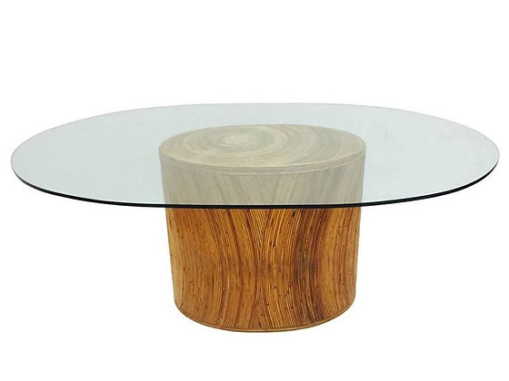 #2729 Adrian Pearsall Reeded Dining Table
