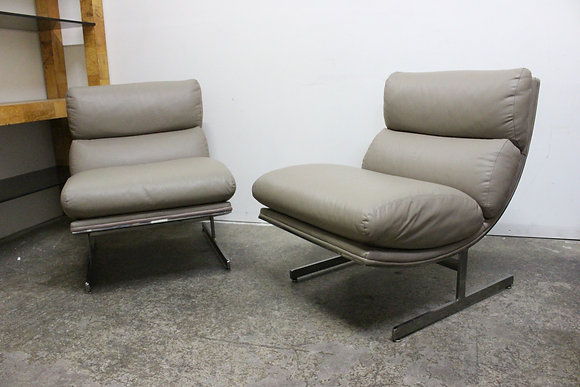 #1015 Pair Kipp Stewart Chairs for Directional