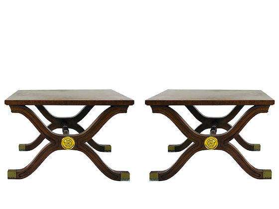 Pair of Dorothy Draper Side Tables