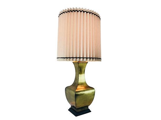 #3981 Single Large Brass Lamp