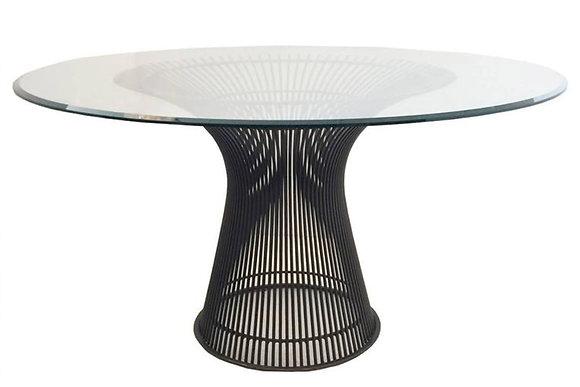 #1301 Bronze Warren Platner Dining Table