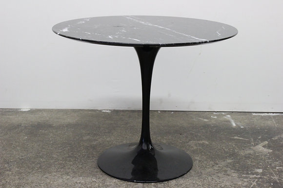 8408 Black Marble Tulip Table