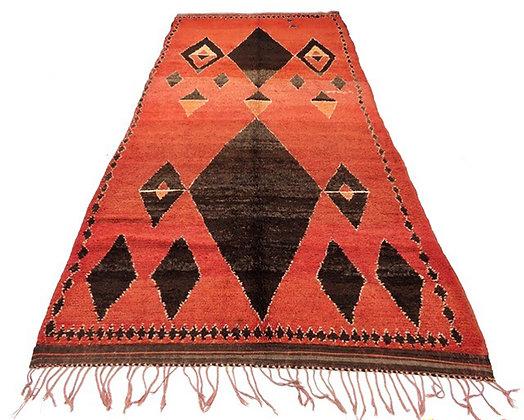 #5048 Vintage Moroccan Medouna Rug