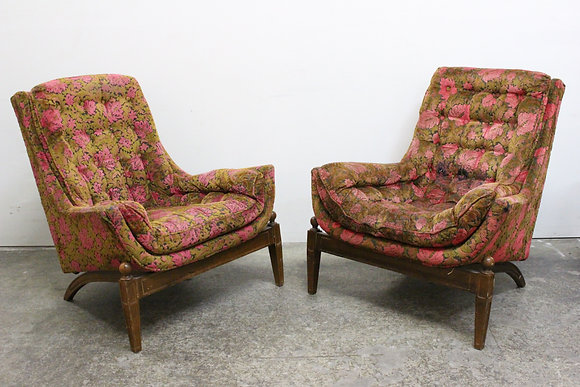 Pair of Pearsall Lounge Chairs