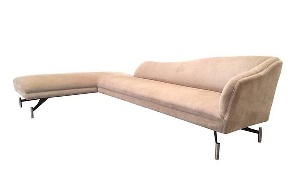 #1679 Kagan Swan Sofa