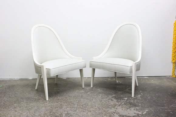 8374 Pair Harvey Probber Lounge Chairs