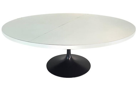 #1663 Large Tulip Style Dining Table
