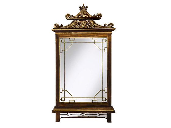 #3080 Large Scale Asian Wall Mirror