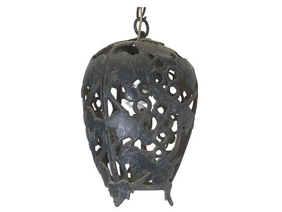 #8496 Black Iron Art Pendant