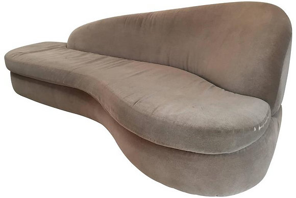 #1625 Adrian Pearsall Serpentine Sofa for Comfort