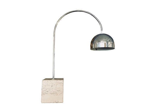 #8505 Dome Goose Neck Table Lamp with Marble Base