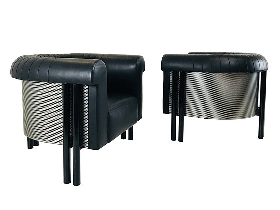 #3501 Pair of de Sede Lounge Chairs