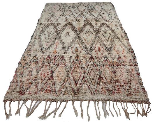 #4531 Vintage Moroccan Marmoucha Rug