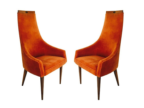 #2166 Pair Adrian Pearsall ArmChairs