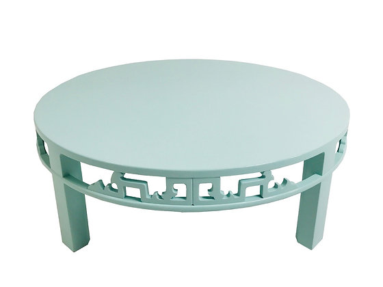 #1634 Lacquered Asian Baker Coffee Table