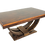 Thumbnail: #4579 Art Deco Rosewood Dining Table