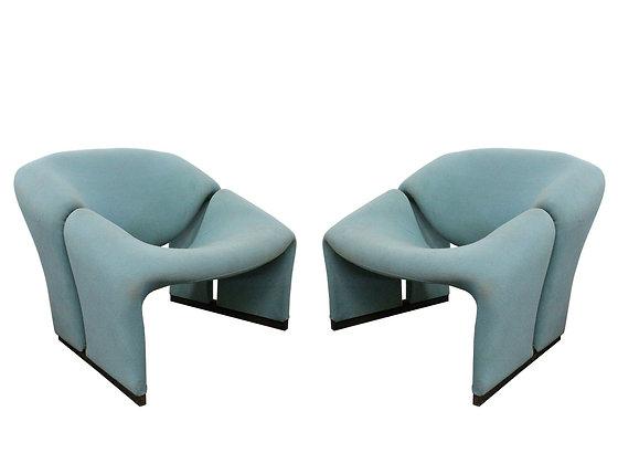 #8754 Pr Pierre Paulin Groovy Chairs for Artifort