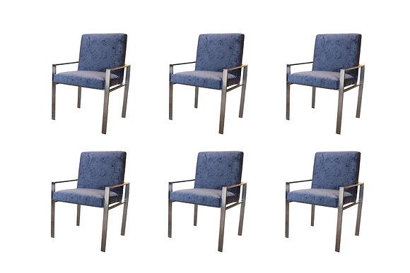 #8369 Set of 6 Harvey Probber Chairs