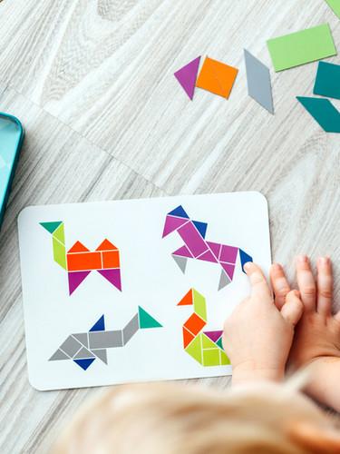 Child Doing Art Activity