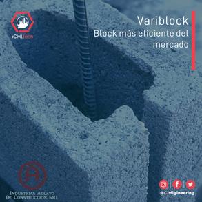 Variblock: El block más eficiente del mercado Dominicano