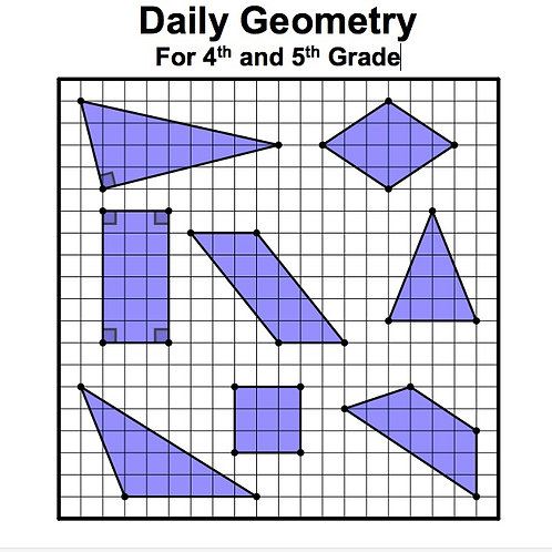 Daily Geometry for 4th and 5th Grade