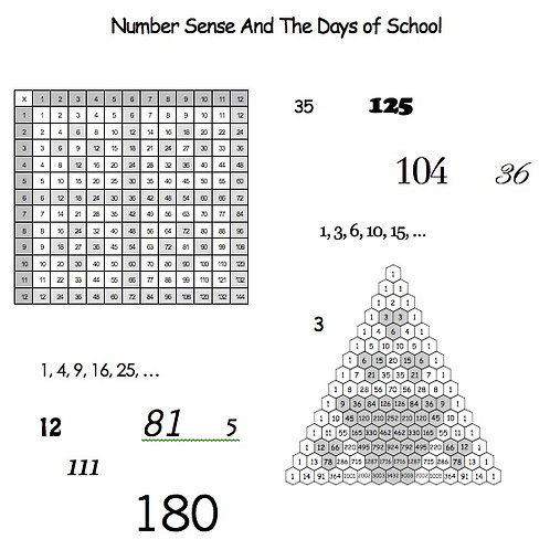 Number Sense and the Days of School