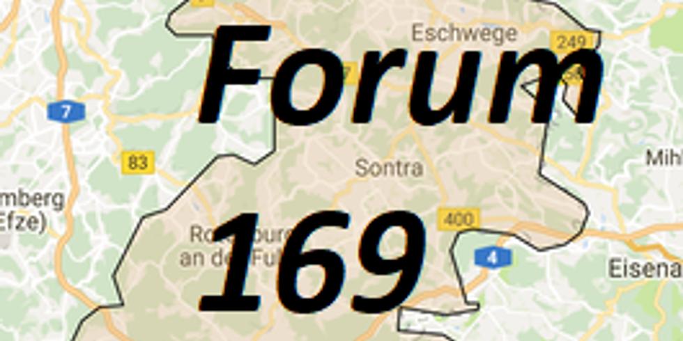 Gründung des Forum 169: überparteiliches Wahlkreisforum für Abrüstung und internationale Verständigung im Wahlkreis 169