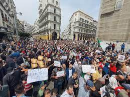 Algeriens Regierung versucht HIRAK zu unterdrücken, die säkuläre Bewegung für Demokratisierung