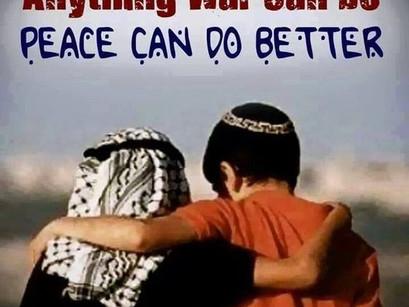 Nachhaltig für einen gerechten Frieden zwischen Israelis und Palästinensern uns selbst engagieren