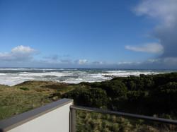 view from main bedroom balcony