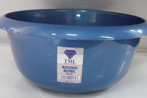Round Washing up bowl Blue