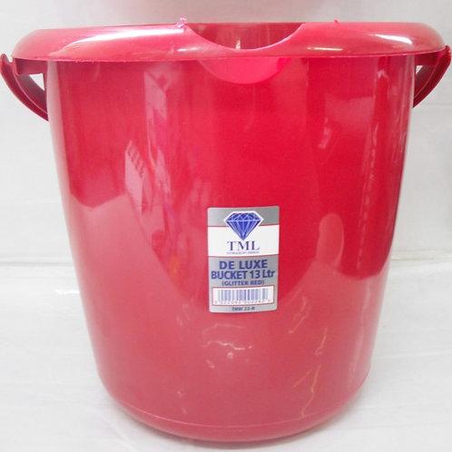 Bucket 13ltr Red