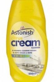 Astonish Citrus Cream Cleaner 550ml