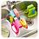Thumbnail: Double Sink Caddy Saddle Style Sponge Holder