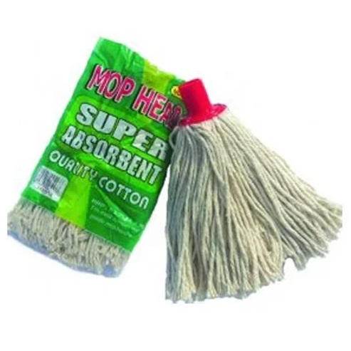 Mop Head with Plastic Holder