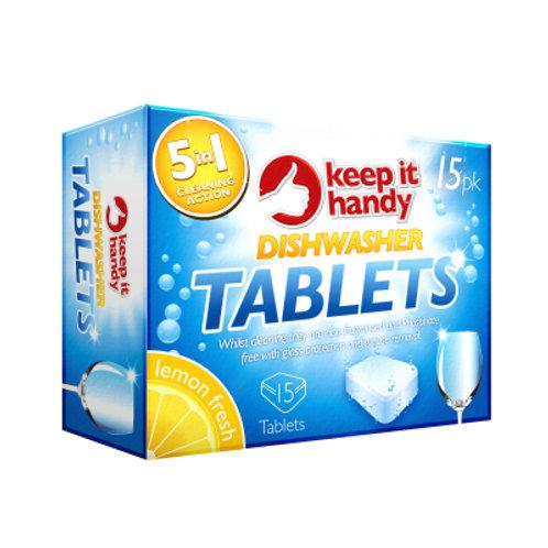 15 pack Dishwasher Tablets