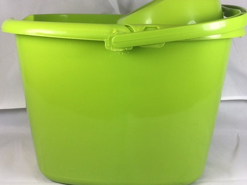 Mop Bucket With Wringer Lime Green