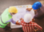 View of an Engineer and worker checking