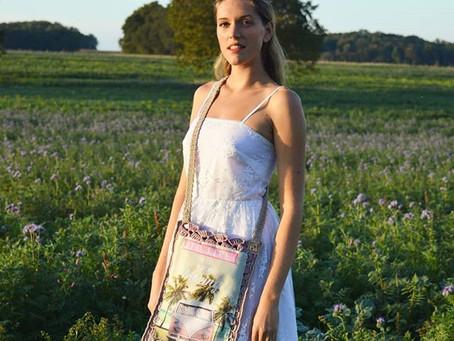 Les sacs et paniers upcycling faits au crochet -  créations eä