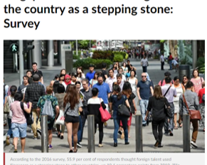 Singapore in Numbers - Immigration vs Fertility