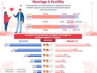 Singapore in Numbers - Marriage