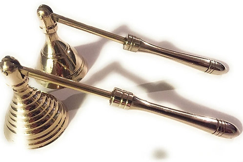 Mini Brass Candle Snuffer