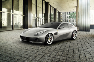 The New Ferrari GTC4Lusso T: A Four-Seater V8