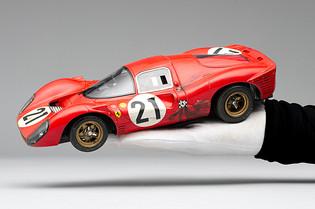 Amalgam's Race-Weathered Ferrari 330 P4 Revealed