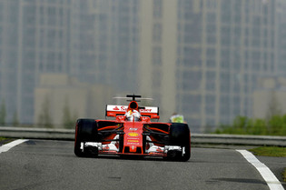 Vettel Takes Second at the Chinese Grand Prix