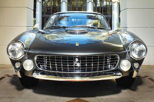 Featuring the Ferrari Lusso Berlinetta - the New Cavallino Cover Art Banners