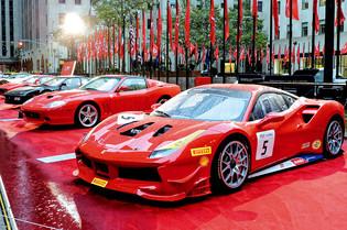 Ferrari's 70th Anniversary Visits New York City